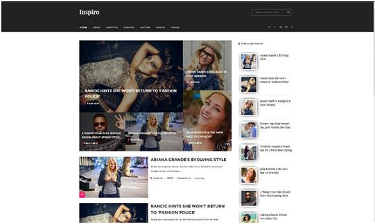template blog, blog