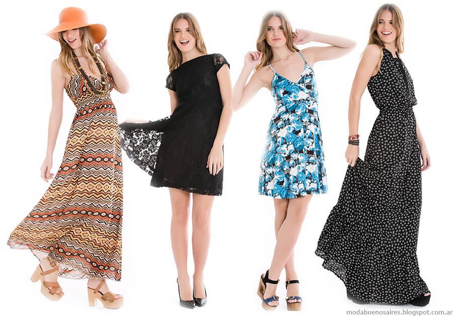 City Argentina vestidos verano 2015. Moda 2015.