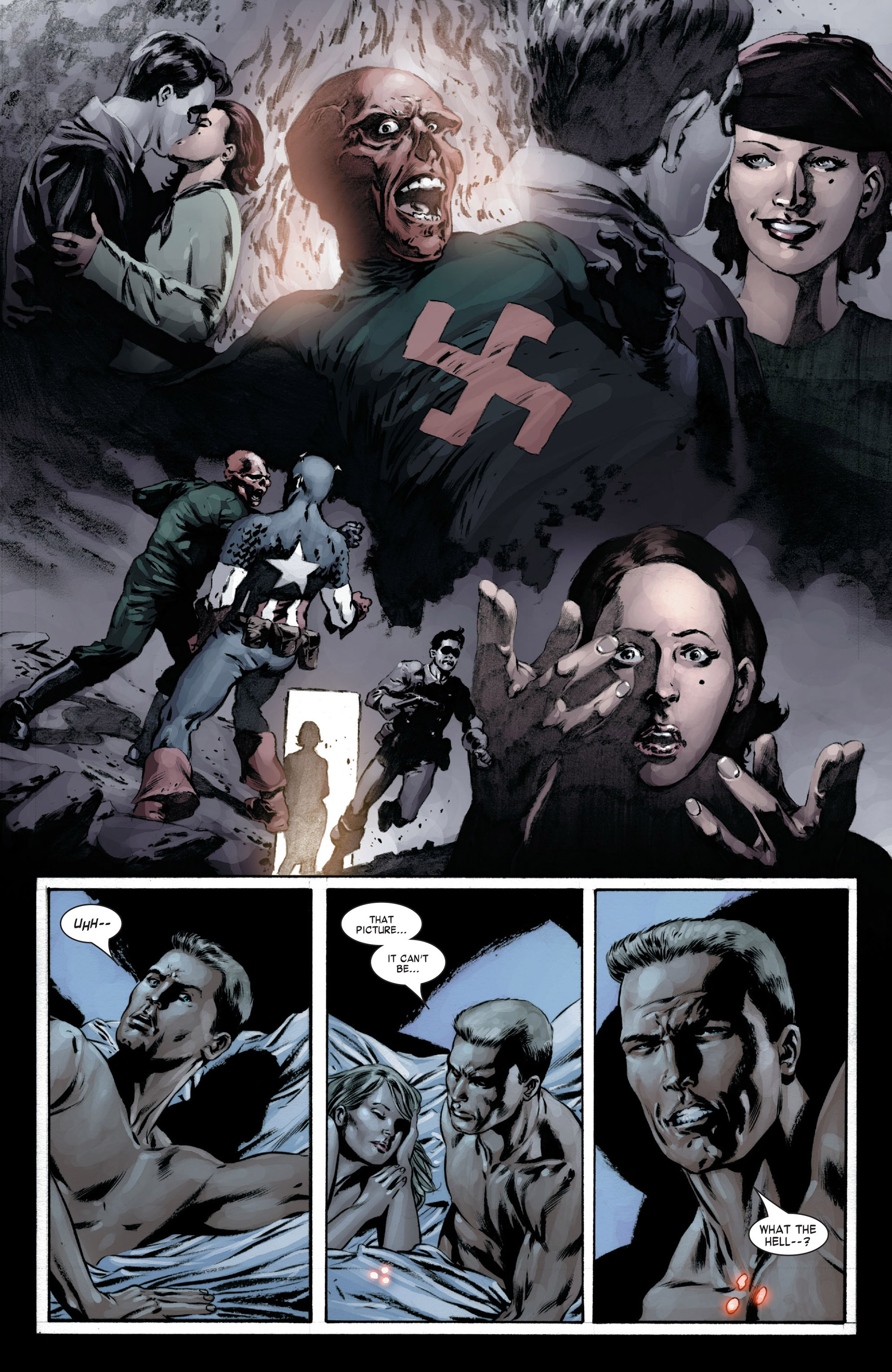 Captain America (2005) Issue #16 #16 - English 21