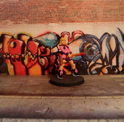 Hasslefree, Felicity, HFA086, Alternative, Survivor, Zombicide, painted