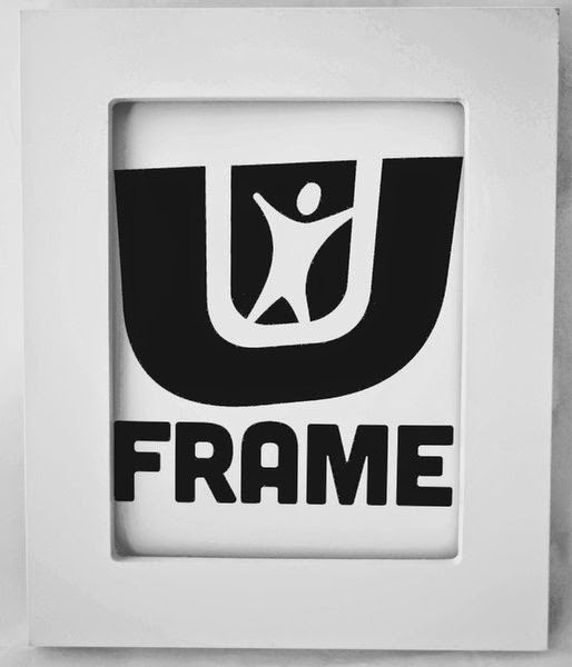 UFrame Picture Frame in Gray