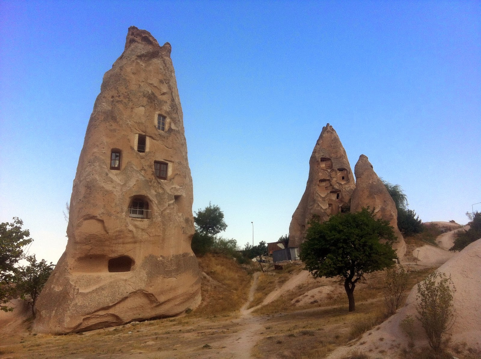 Today Is My Birthday G Reme Cappadocia Fairy Chimneys And Trees With Eyes