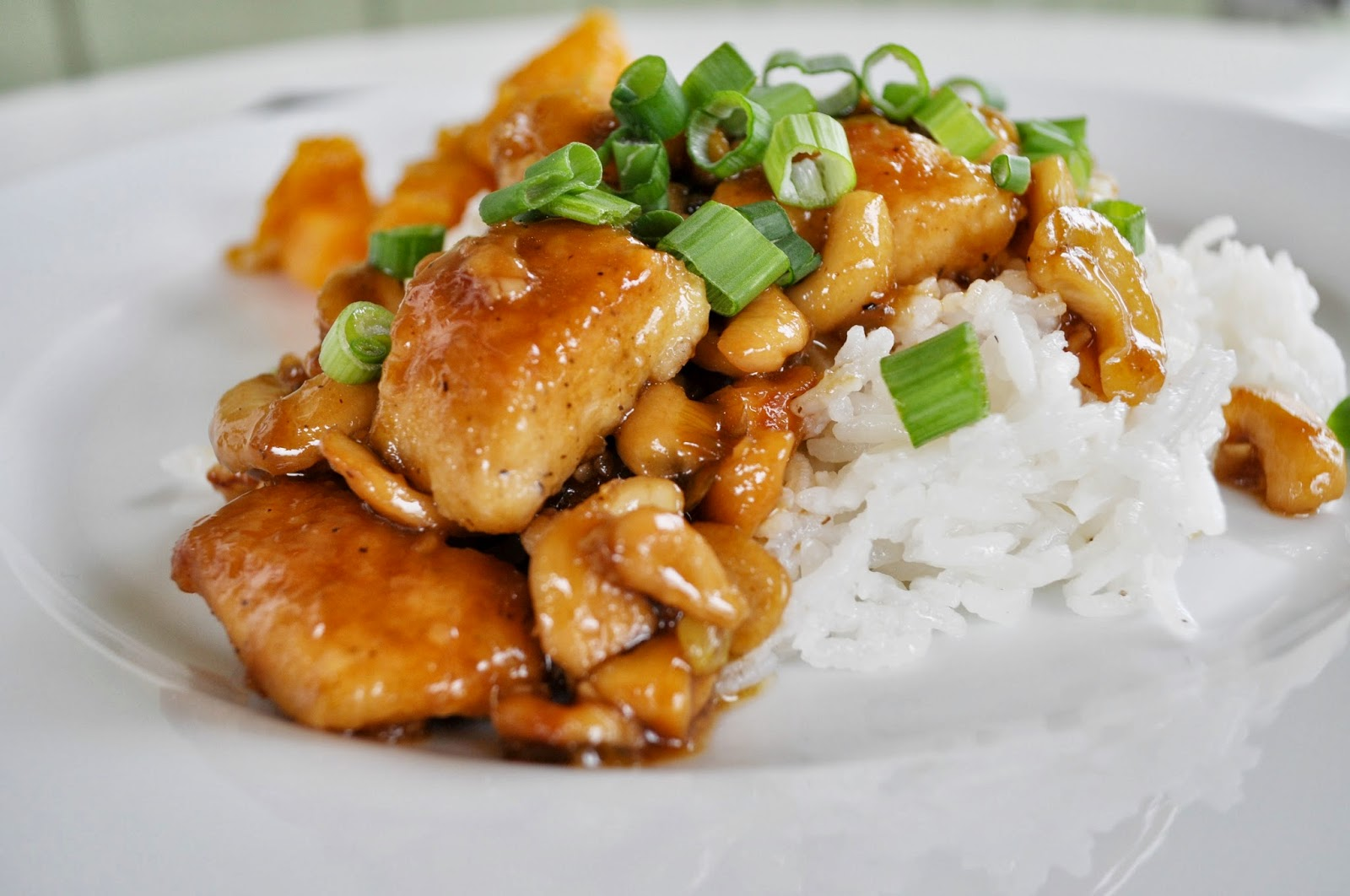 Cashew Chicken Recipe — Dishmaps