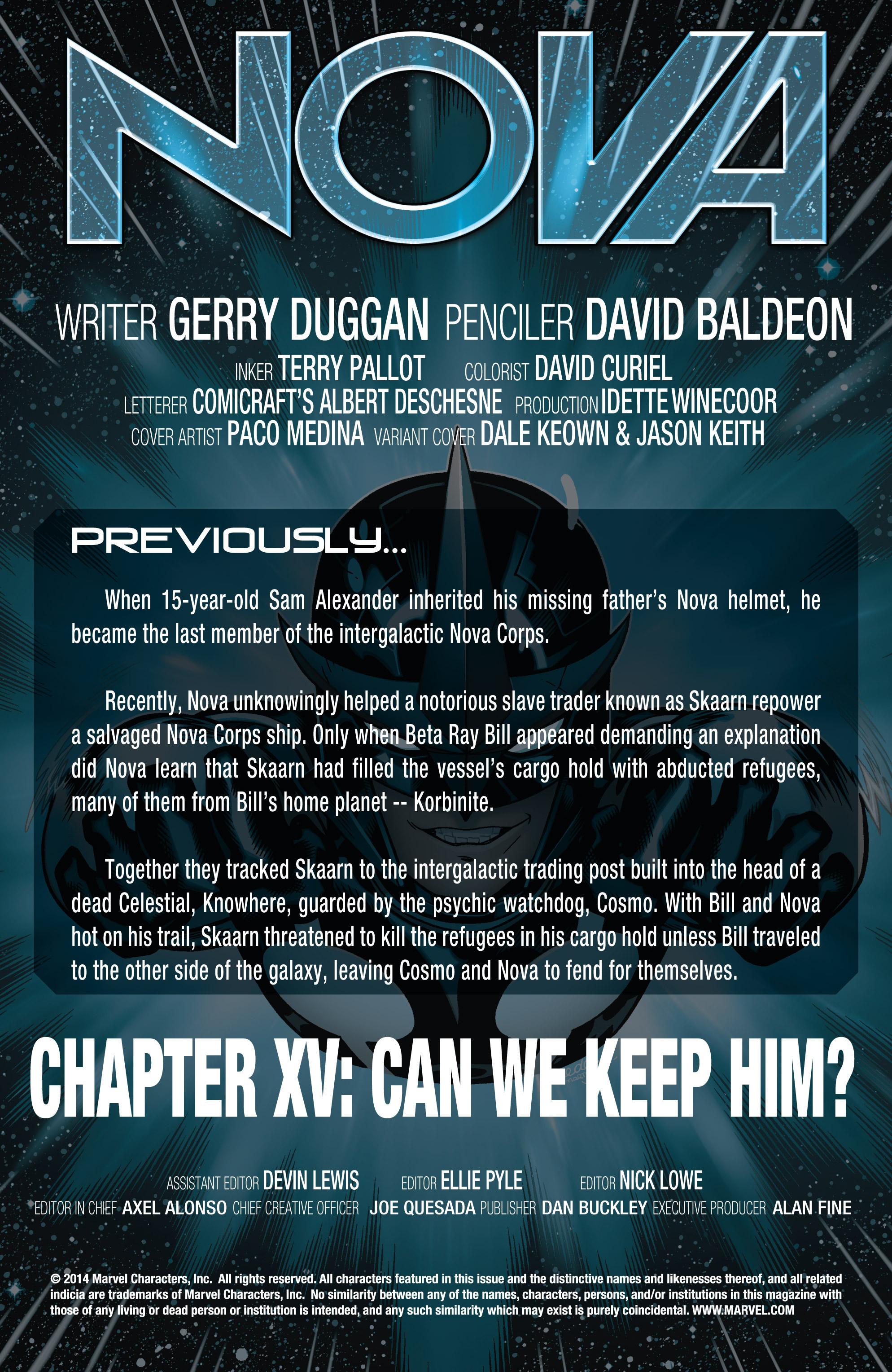 Nova (2013) - Chapter  15 | pic 2