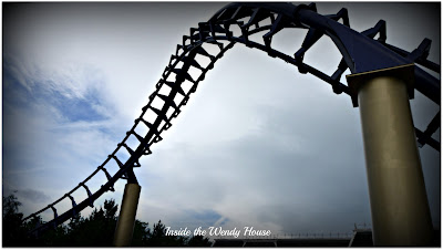 rollercoaster, Alton Towers, Corkscrew