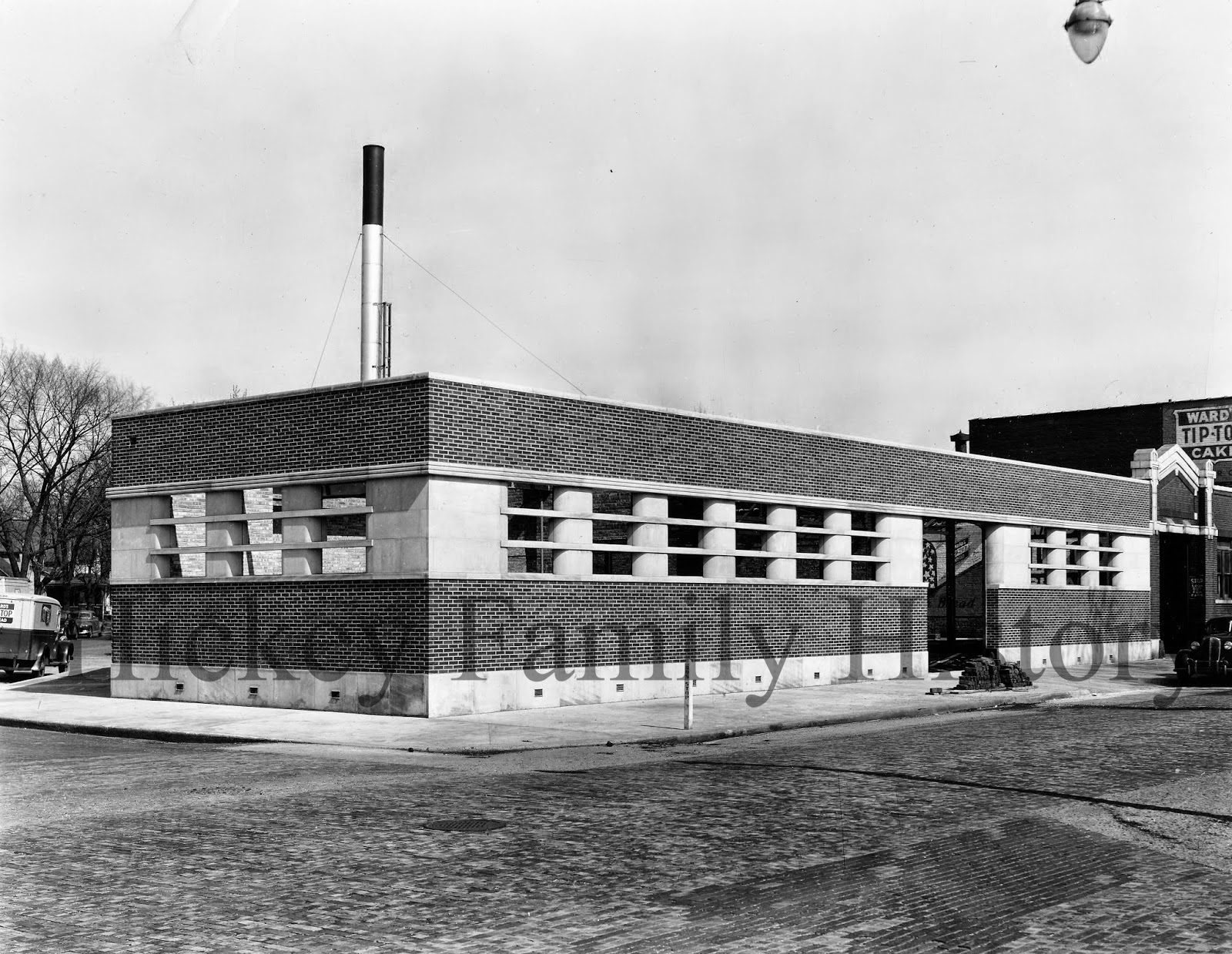 ward bakery addition c 1940