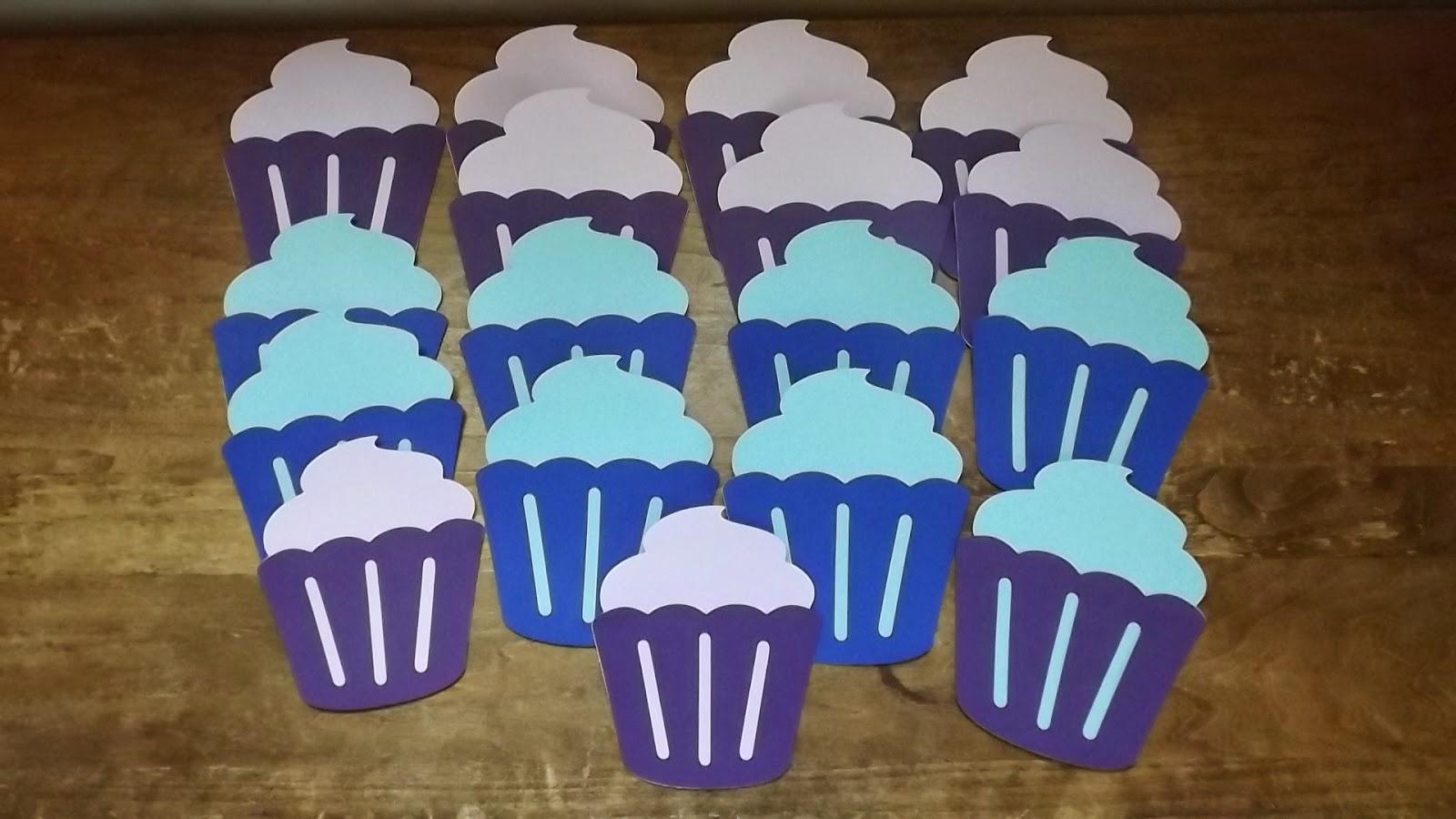 CTMH Cricut Cupcakes