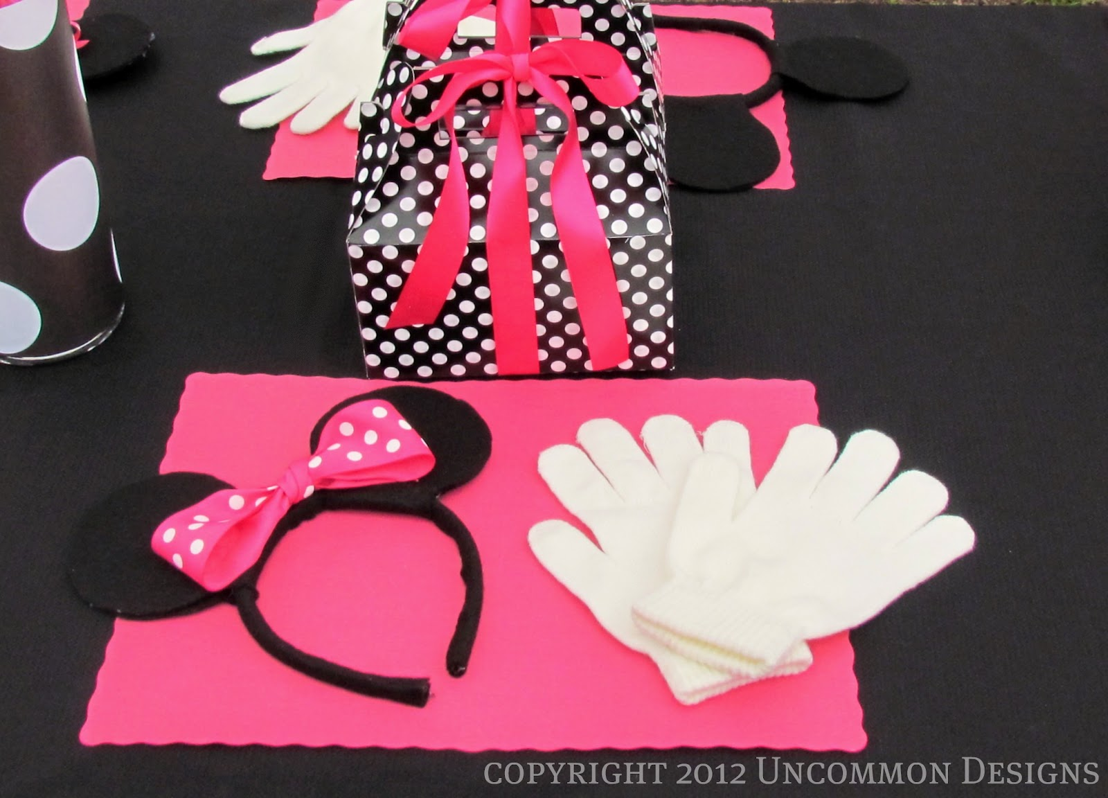 A minnie mouse birthday party uncommon designs a minnie mouse birthday party amipublicfo Choice Image