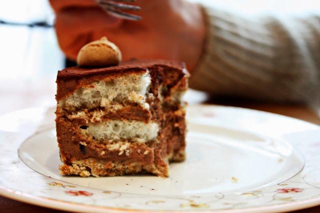 Nougat Tiramisu Torte