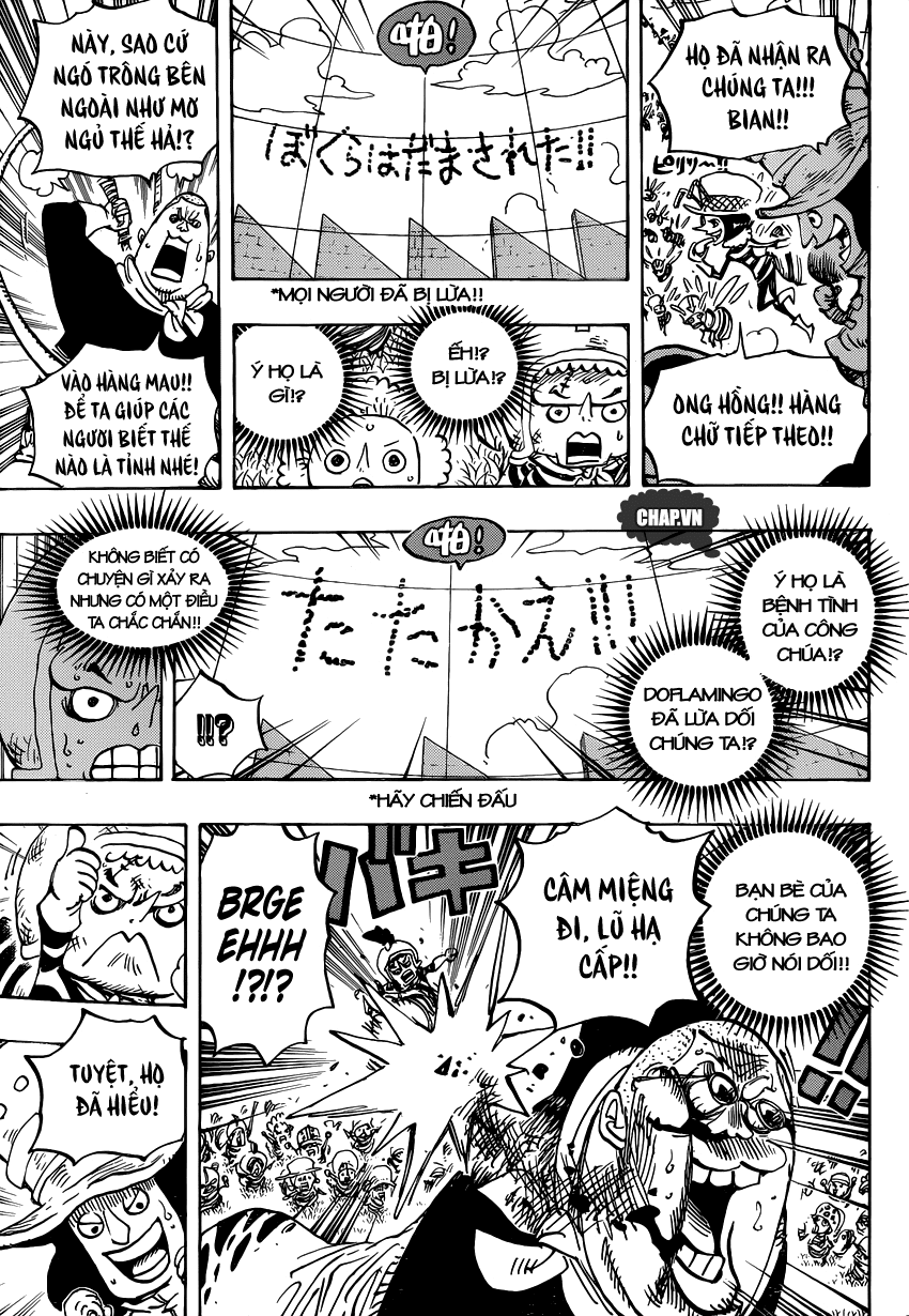 One Piece Chapter 753: Tác chiến 011