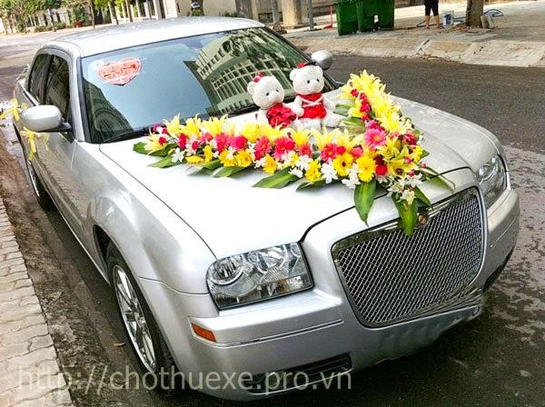 Các cách trang trí xe hoa cho đám cưới đẹp và đơn giản 3