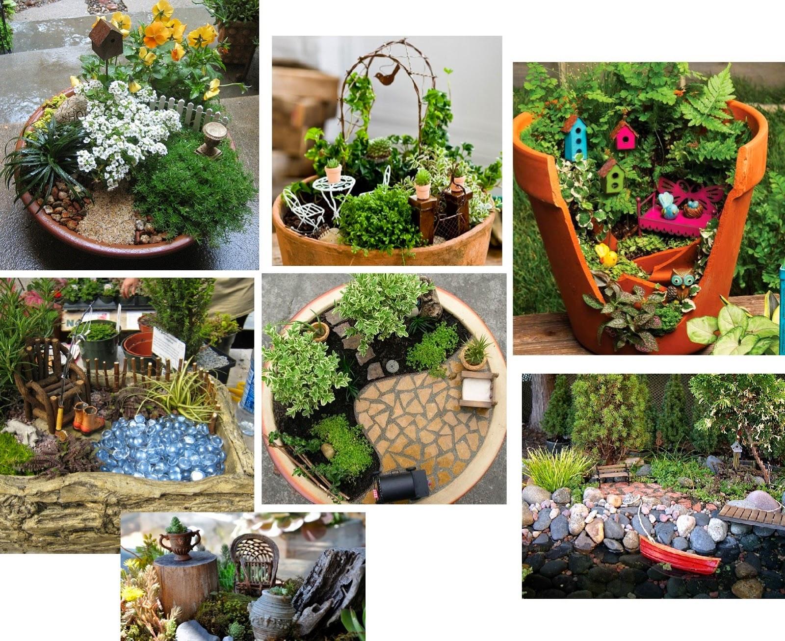 Миниатюрные сады своими руками