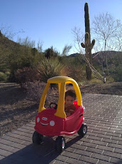 Kai enjoying a beautiful Arizona morning in his new ride!