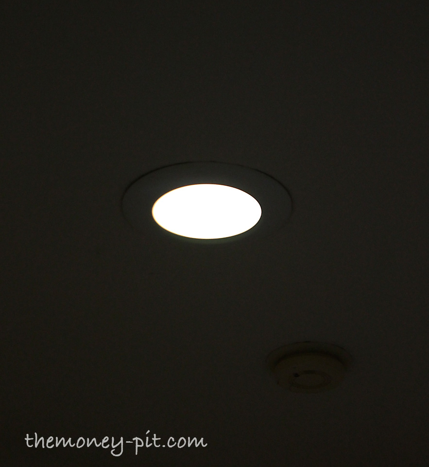 Recessed Lighting Keeps Falling Out : Updating recessed lighting or how to keep bugs out of