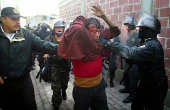 Policías Estatales aseguran que no participaron en tortura o abuso sexual en Atenco, mayo de 200