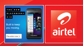 Airtel BlackBerry 10 Data Plans