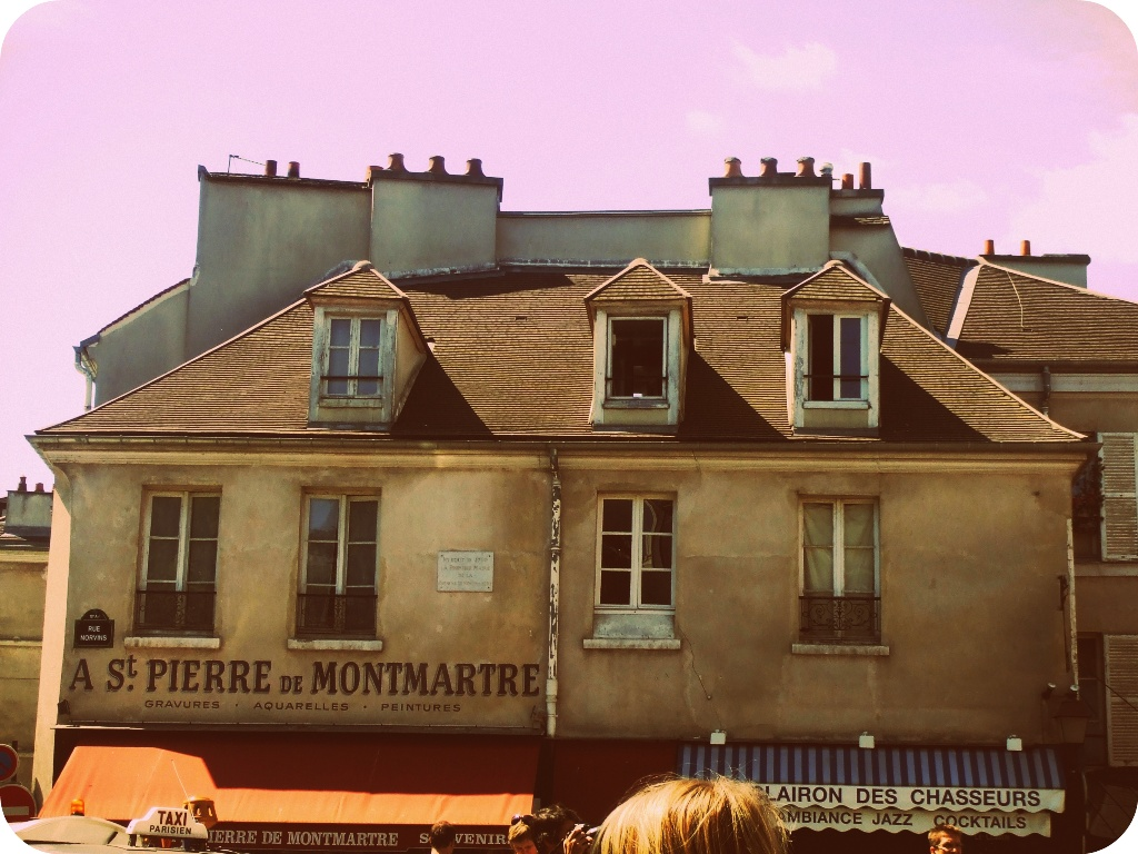 montmarte sokakları