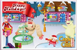 espiritu navideño  candy crush