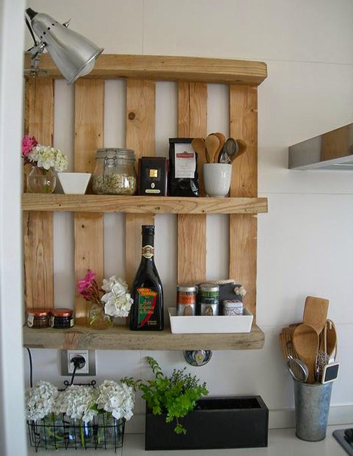 Muebles y Accesorios con Palets Reciclados