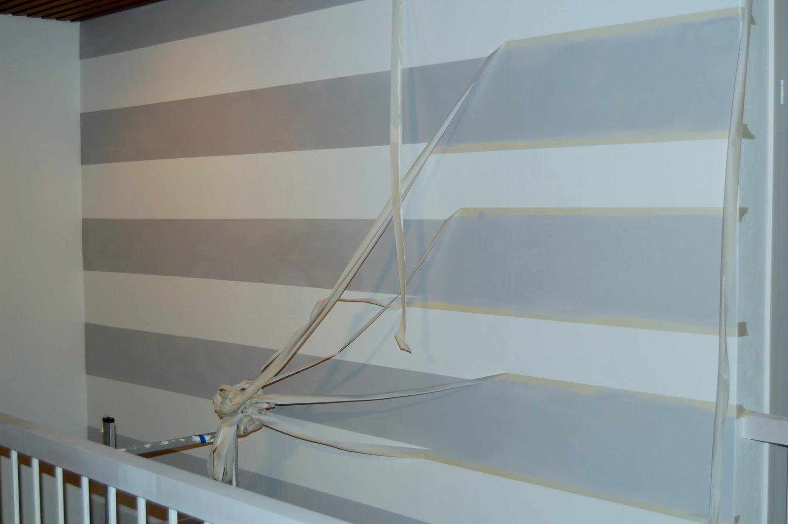 Raitojen maalaaminen seinään