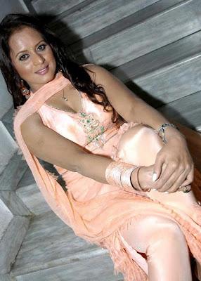 tanisha stunning in churidar actress pics
