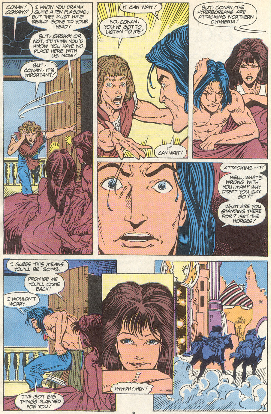 Conan the Barbarian (1970) Issue #234 #246 - English 7