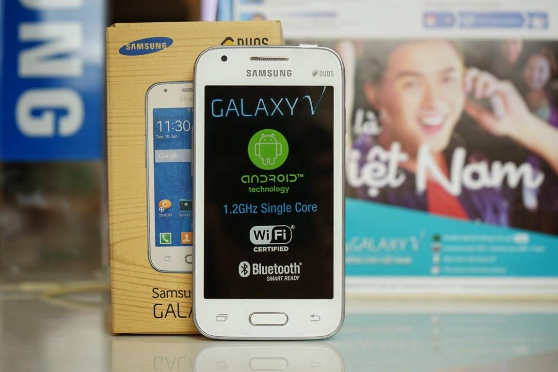 Samsung Galaxy V, HP Android KitKat Terbaru Samsung Harga 1,2 Jutaan