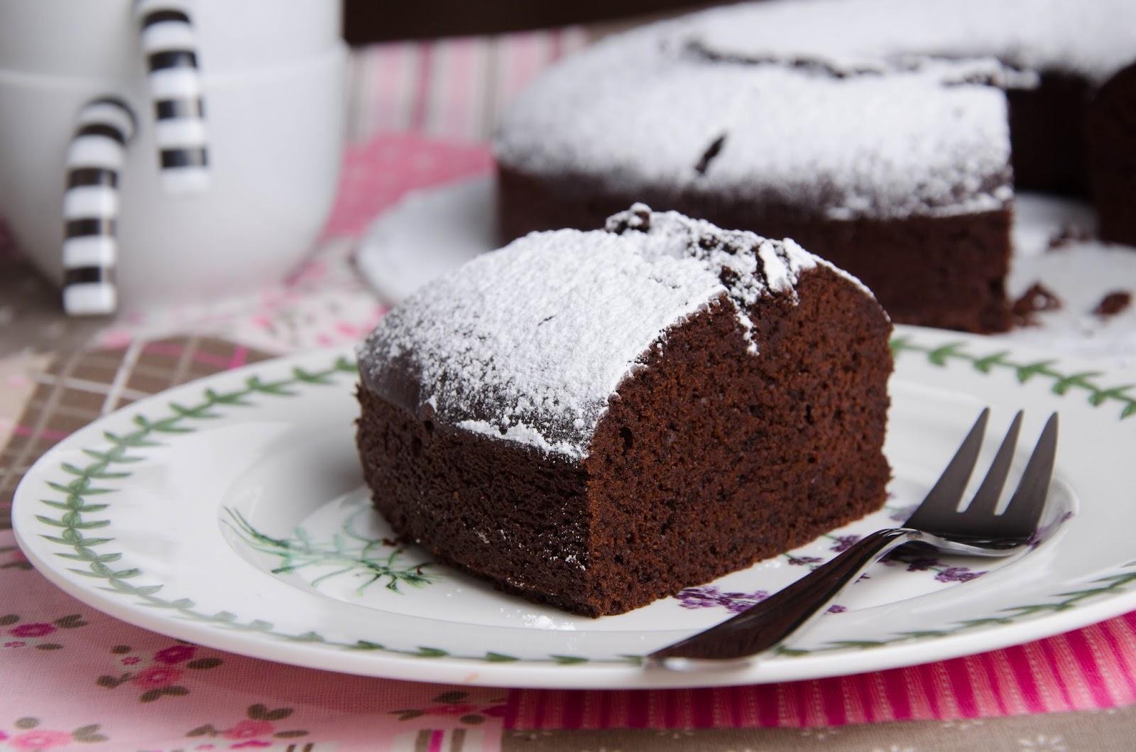 Mississippi Mud Cake - ciasto obłędnie czekoladowe...