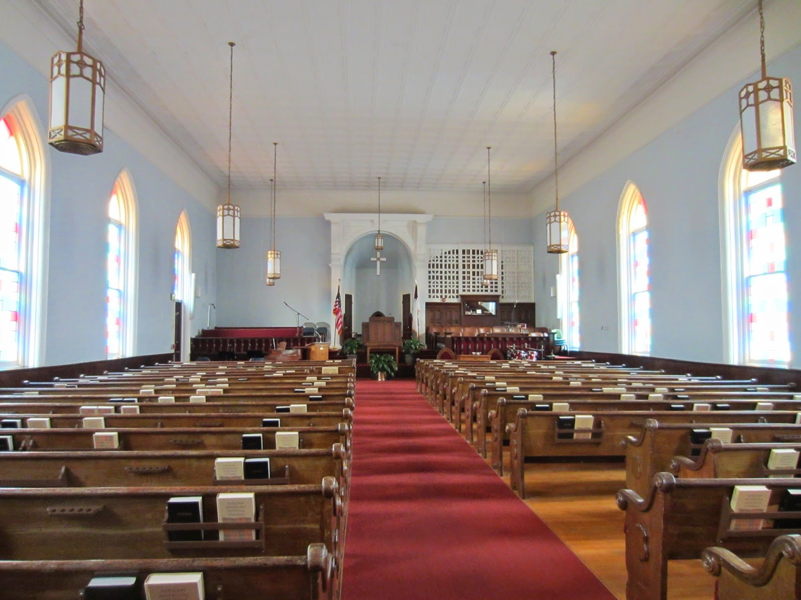 Dexter Avenue Baptist Church Interior, Montgomery, AL / Souvenir Chronicles