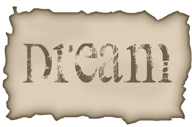 GrannyEnchantedCom Free Elements Dream Word Art For Digi