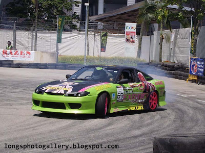 Silvia S15 on drift