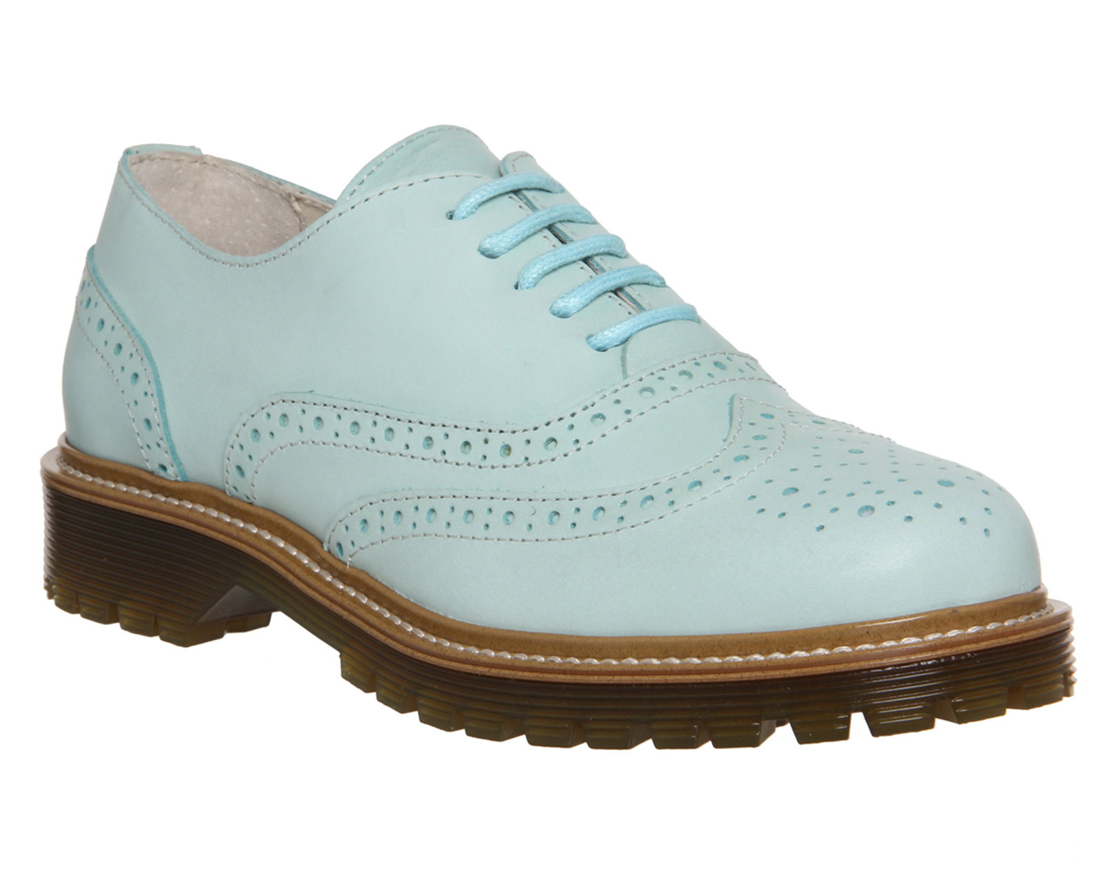 Office Cleated Mint Brogue