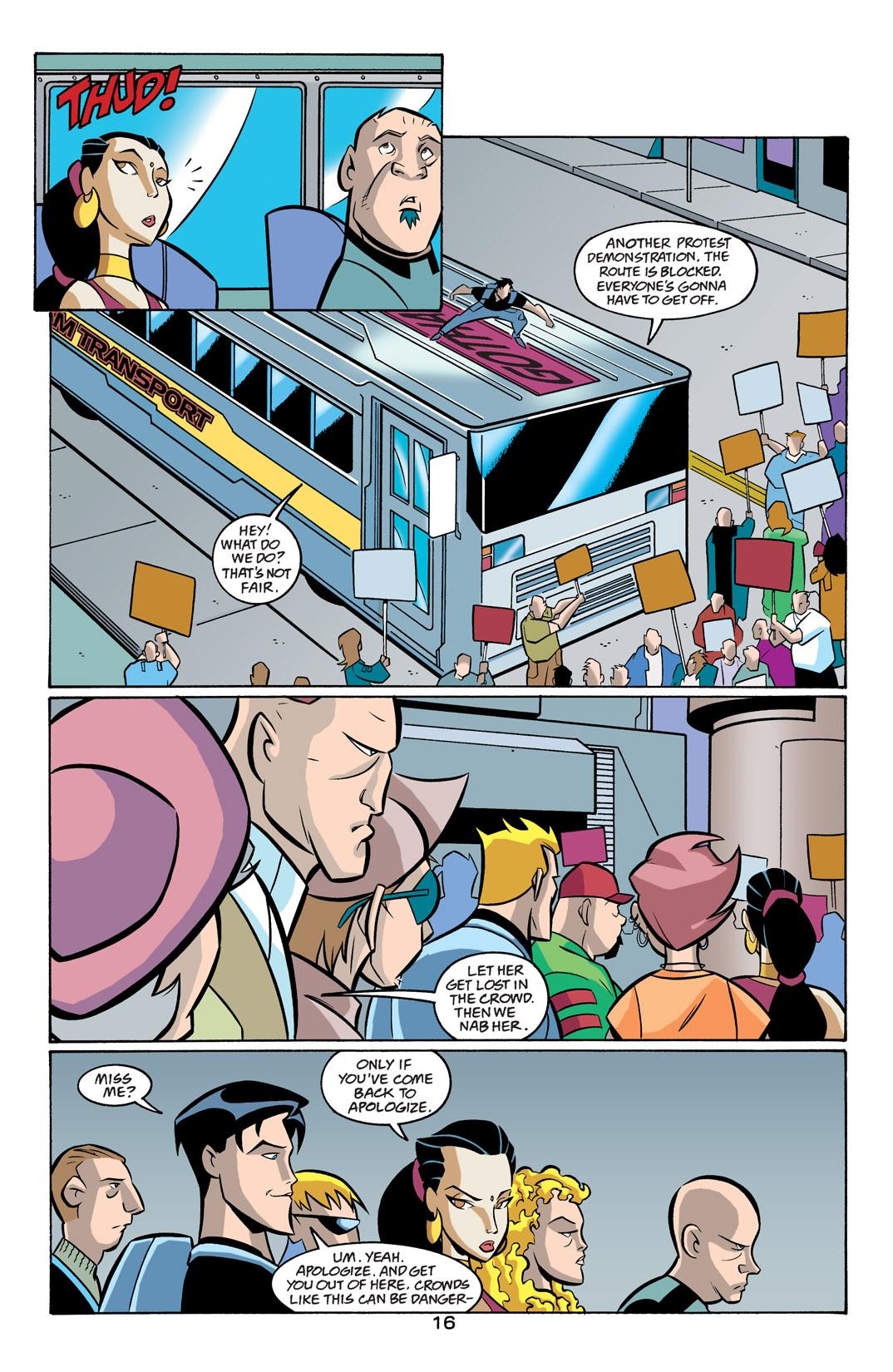 Batman Beyond [II] Issue #19 #19 - English 17