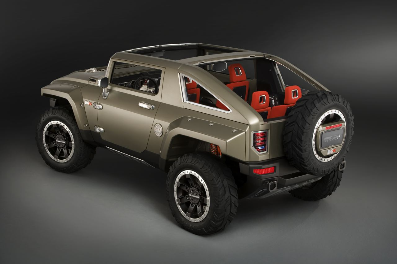 Sport Cars 2008 Hummer Hx Concept Beautiful Car