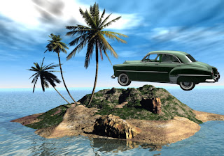 Vintage Cars Wallpapers Antique Chevrolet Styleline 1950 in 3D Island backgrounds