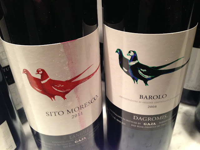 Barolo Dagromis & Sit Moresco from Gaja