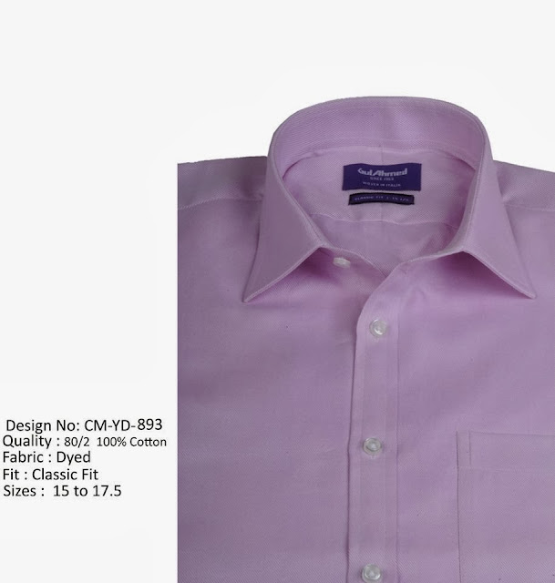 Gul Ahmed Dress Shirts Collection 2013-14 For Men's