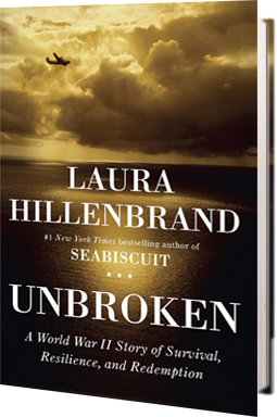 "the extraordinary life of louis zamperini in unbroken a book by laura hillenbrand Laura hillenbrand's unbroken tells the life story of louis ""louie"" zamperini, an olympic runner and military aviator in world war ii (wwii) he survived being lost at sea and years of horrific abuse as a prisoner of war (pow) in japan."