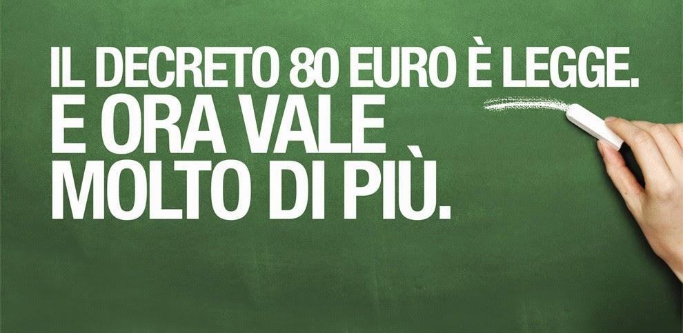 DECRETO 80 EURO