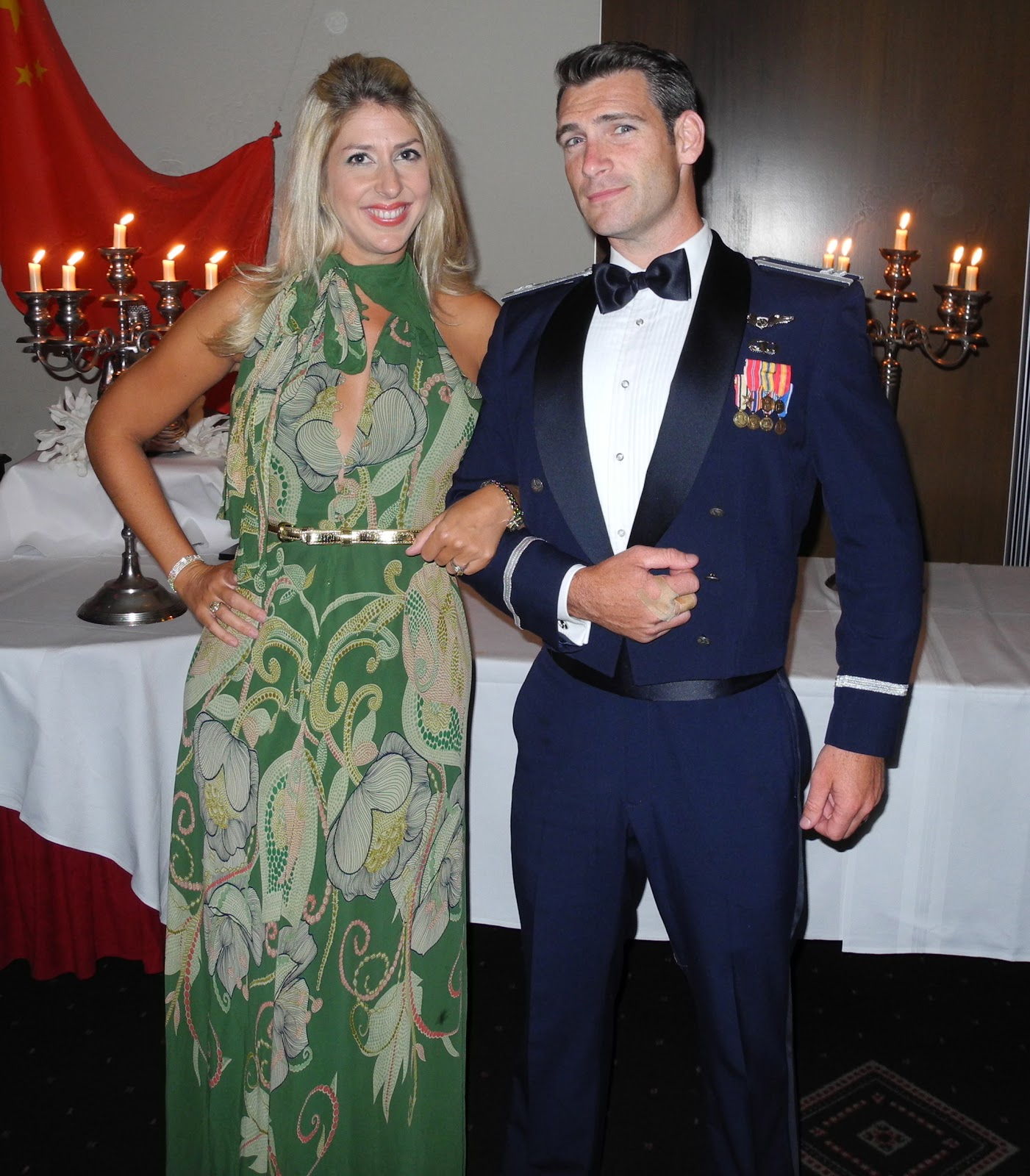The Clough Chronicles: Having a Ball at the Air Force Ball