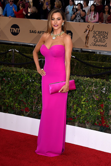 Sofia-Vergara - Sag awards 2016 as mais bem vestidas da red carpet