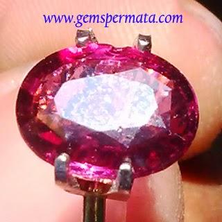 Batu Permata Purple Rhodolite Garnet