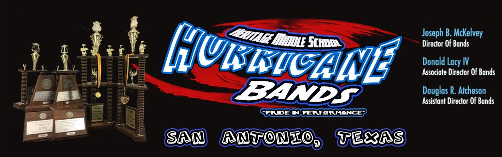 Heritage Middle School Hurricane Band