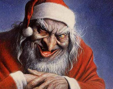 Bonnes Fêtes  Evil-santa