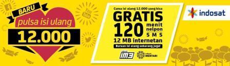 Pulsa Indosat 12.000 Banyak Bonusnya | DealerPulsa.web.id