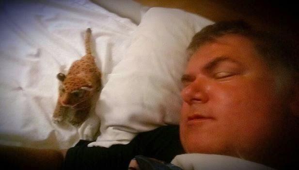 Tim Fasano Sleeping