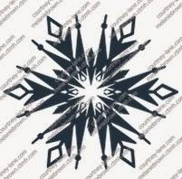 Frozen Snowflake 1