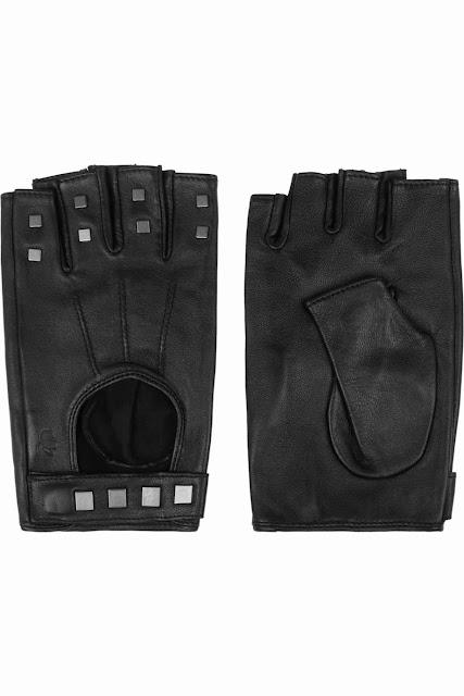 black+leather+gloves