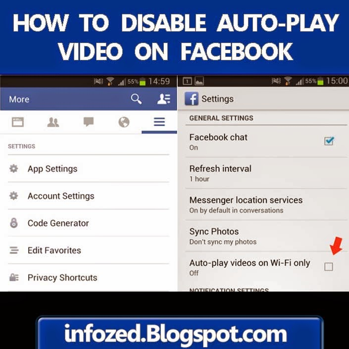 How to Disable Facebook Auto Play Video on Android Mobile Phone?