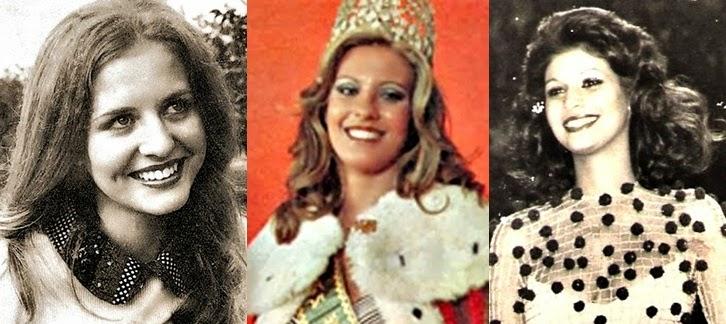 Misses Universo Brasil 1975, 1976 e 1977